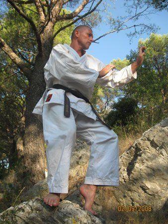 Bencze István karatemester 3. dan