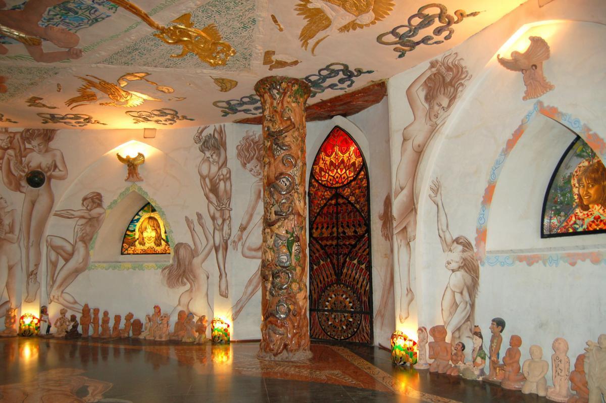 Damanhur, világ legnagyobb föld alatti temploma